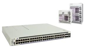 Alcatel-Lucent Switches de Core OmniSwitch 6850E, OmniSwitch 6855, OmniSwitch 6860, OmniSwitch 9000E